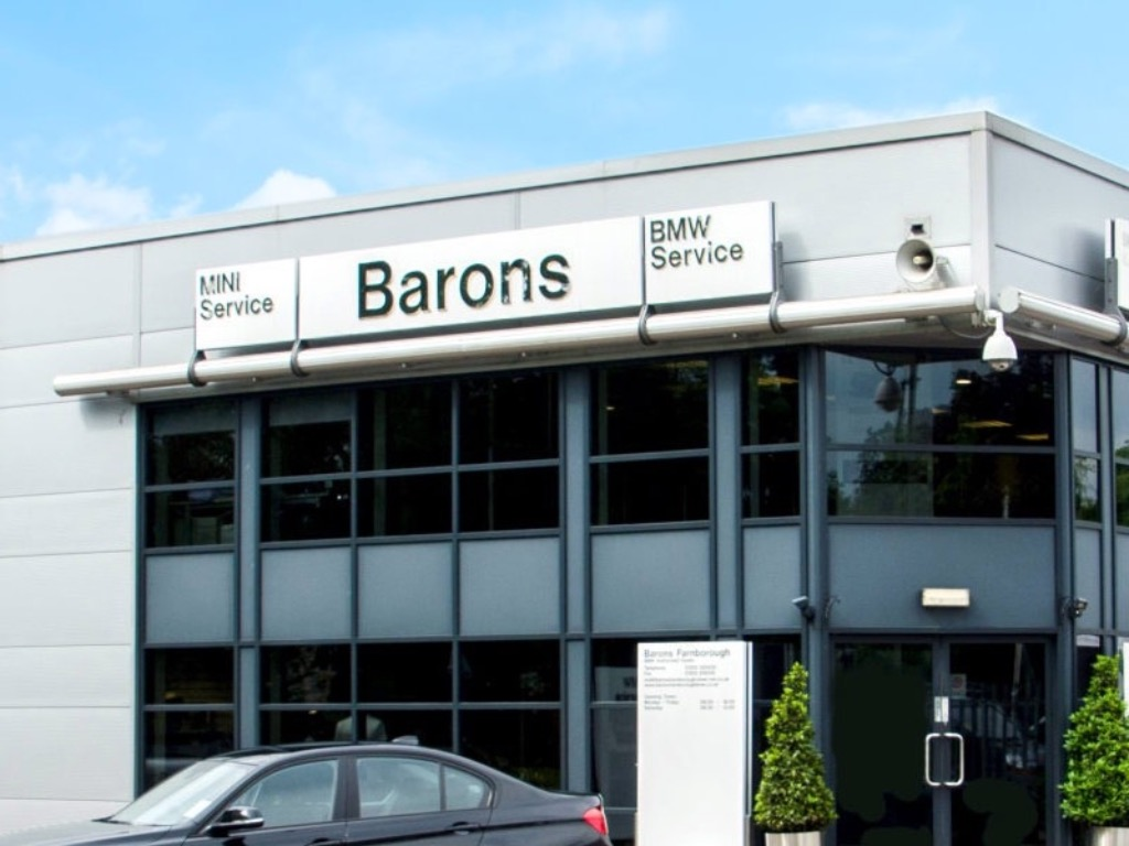 Barons BMW Farnborough Aftersales - BMW Dealership in Ash Vale
