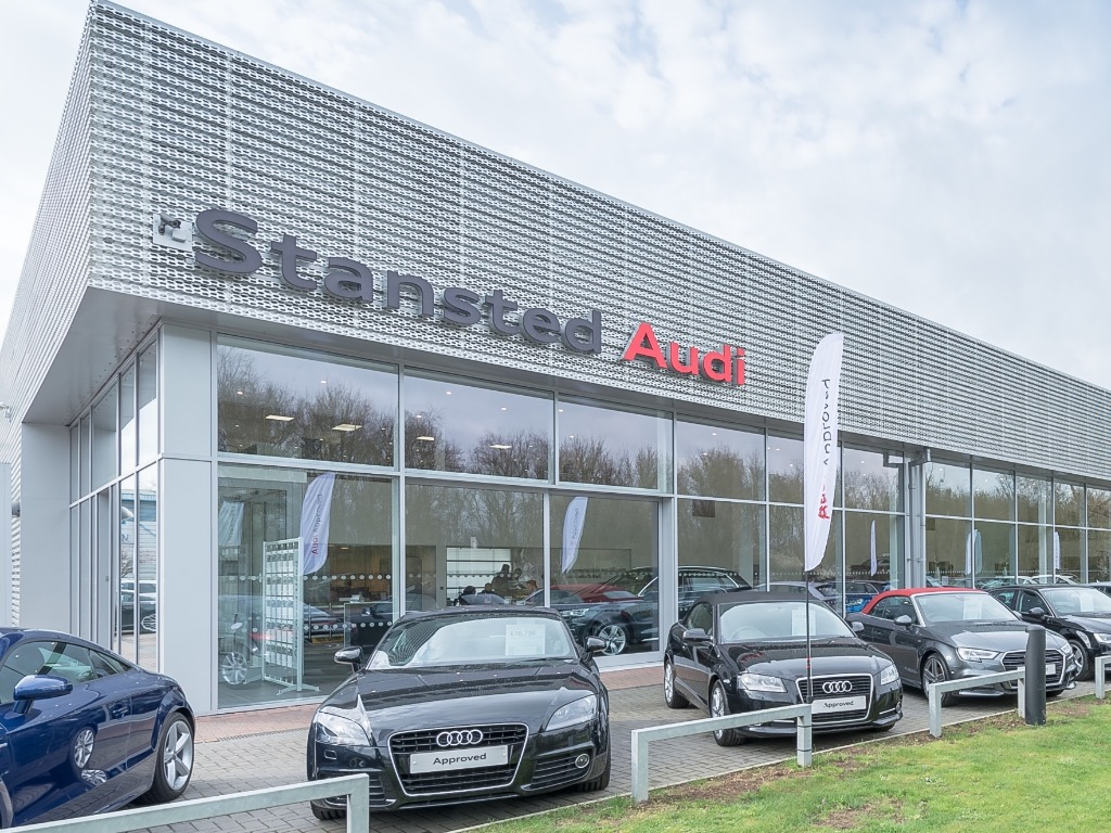 Stansted Audi - Audi Dealership in Bishop's Stortford