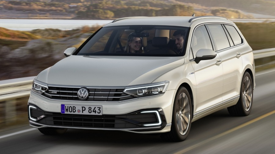 The new Passat will be the first Volkswagen to offer partially automated driving at cruising speed
