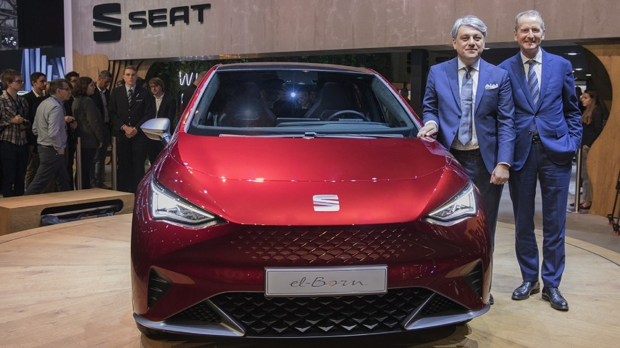 SEAT at the Geneva Motor Show: eMobility