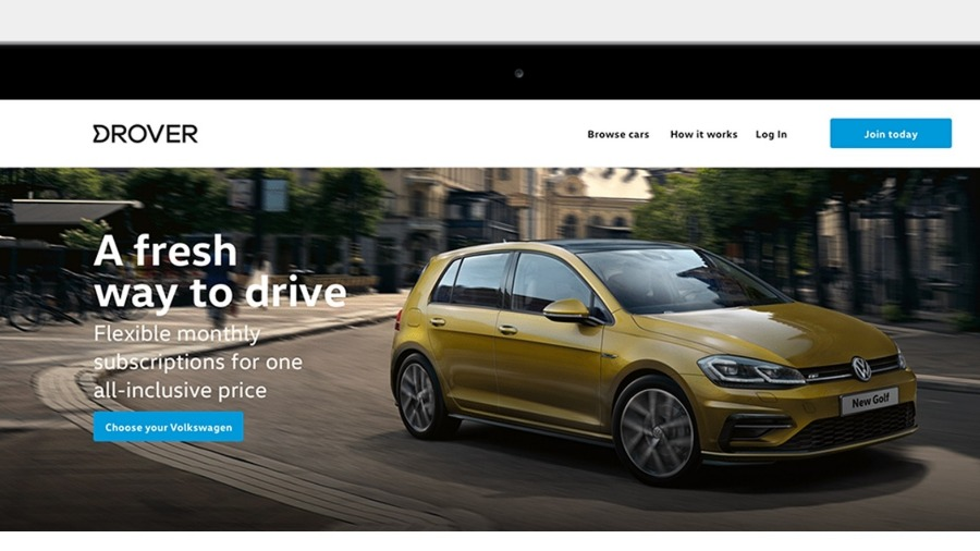 Volkswagen launches subscription pilot with Drover
