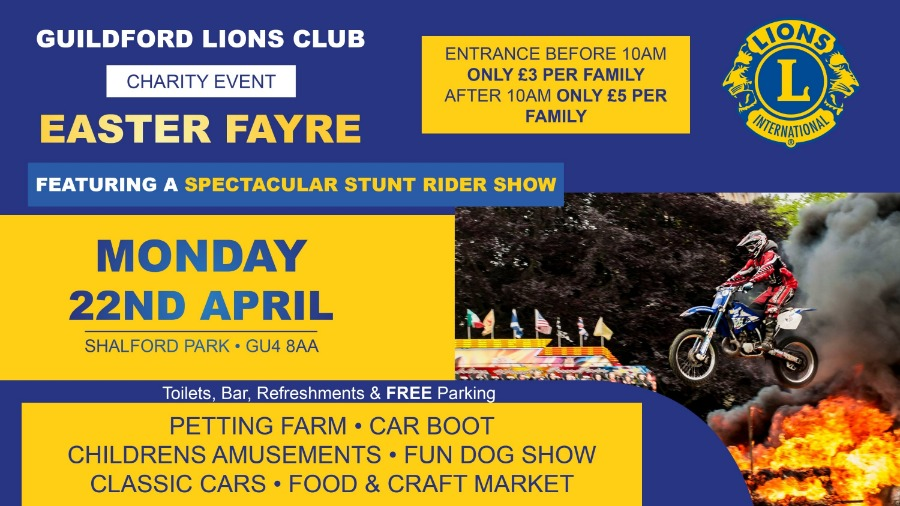 Guildford Lions Easter Fayre