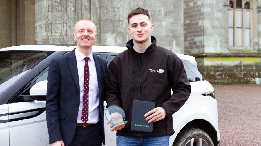 Rhys Is Awarded Sales Advisor Apprentice Of The Year 2019