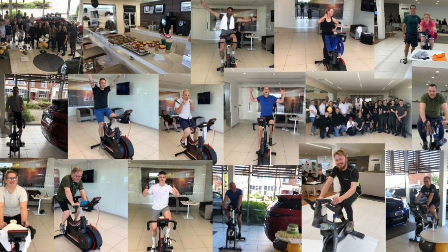 JLR CYCLE CHALLENGE RESULTS!
