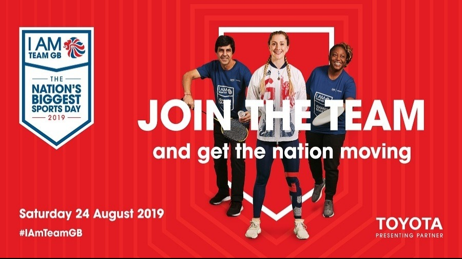 Toyota (GB) Partners with I am Team GB for The Nation's Biggest Sports Day!