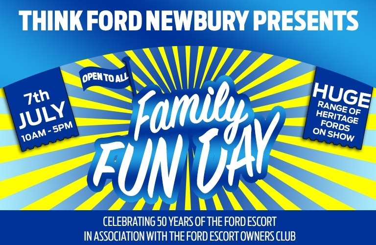 Think Ford Newbury celebrates 50 years of the Ford Escort