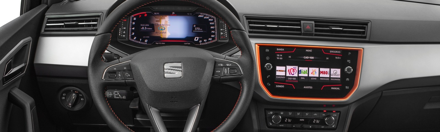 Seat Introduces Digital Cockpit To The Arona And Ibiza