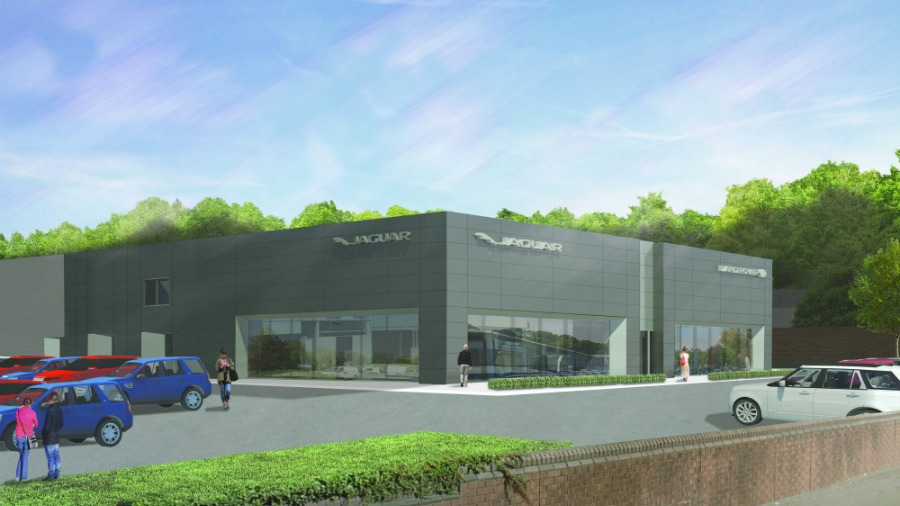 Beadles Land Rover's New Showroom