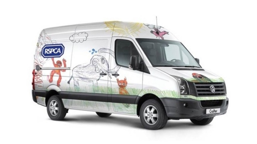 New VW Crafter Vans for the RSPCA