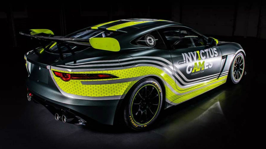 Invictus Games Racing Launches With GT4-Spec Jaguar F-TYPE SVR