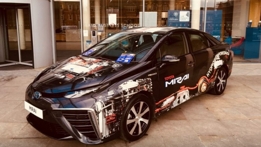 Toyota Welcomes New Oxfordshire Hydrogen Hub