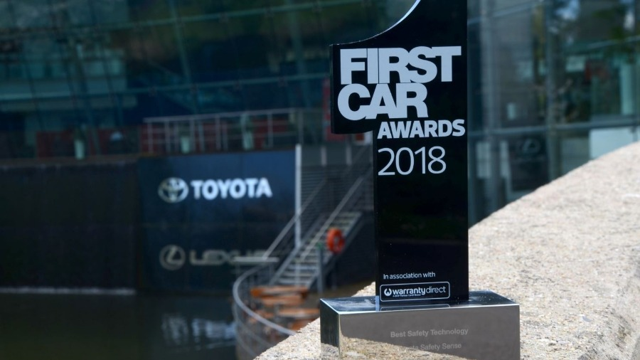 Toyota Safety Sense Picks Up First in FIRSTCAR Awards