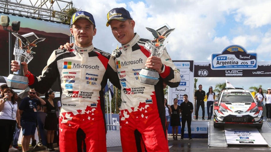 TÄNAK and TOYOTA Triumphant in Argentina