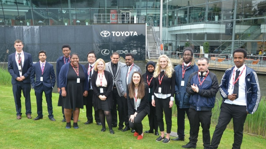 Toyota GB Welcomes Spear Programme Trainees