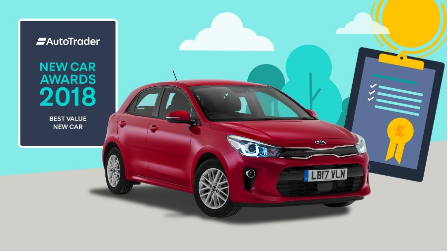 Double Win for the KIA Rio at the Auto Trader New Car Awards 2018