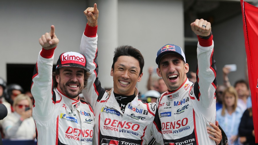 Toyota Gazoo Racing Win the Le Mans 24 Hours