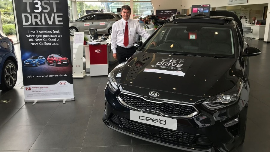 New Ceed and Sportage Launches at Beadles KIA