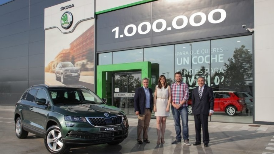 SKODA Auto Produces its One Millionth Sports Utility Vehicle