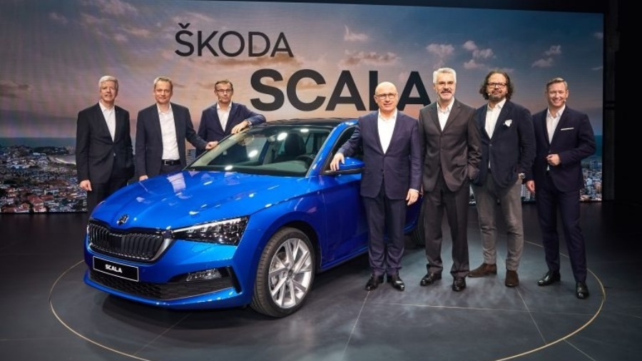 The World Premiere of the ŠKODA SCALA