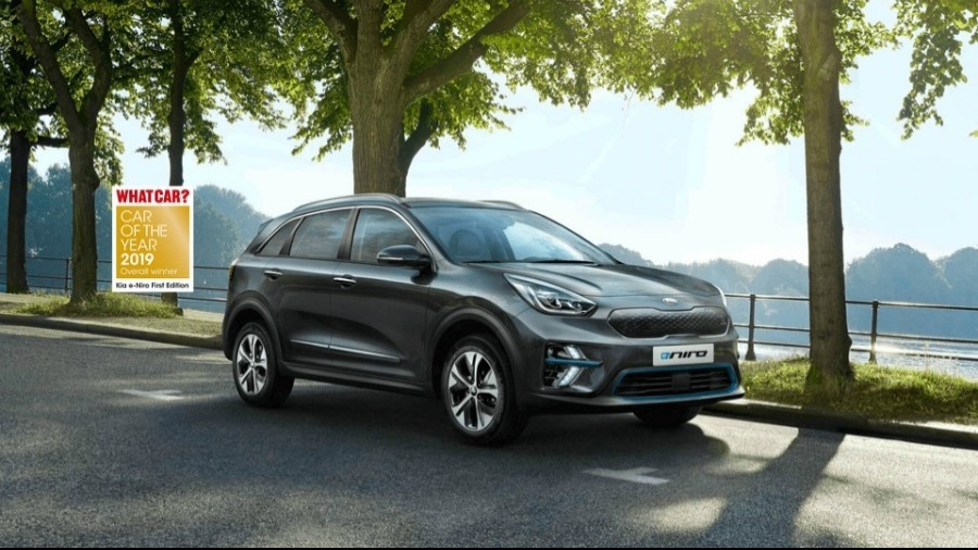 All-New Kia e-Niro Wins Car of the Year At 2019 What Car? Awards