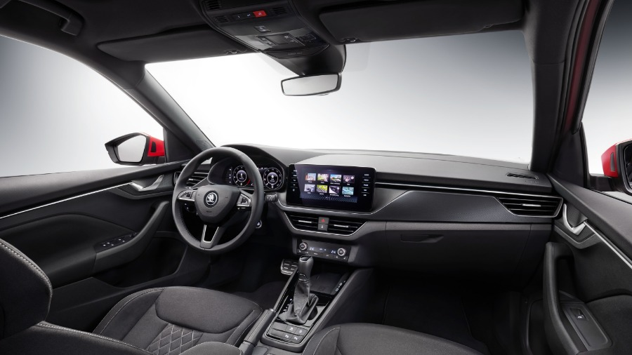 First Look Inside the ŠKODA KAMIQ