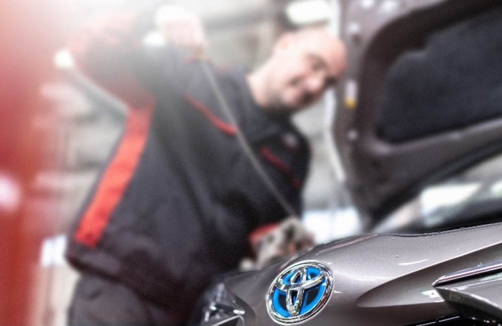 Toyota Service Plan from £15 per month