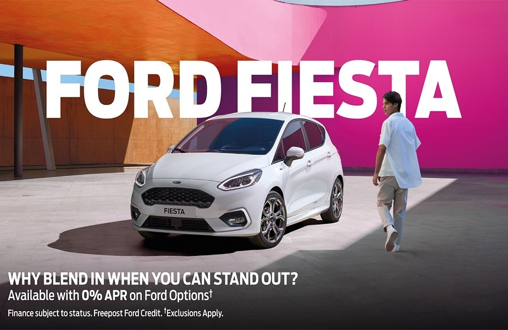 Ford Fiesta with 0% APR on Ford Options