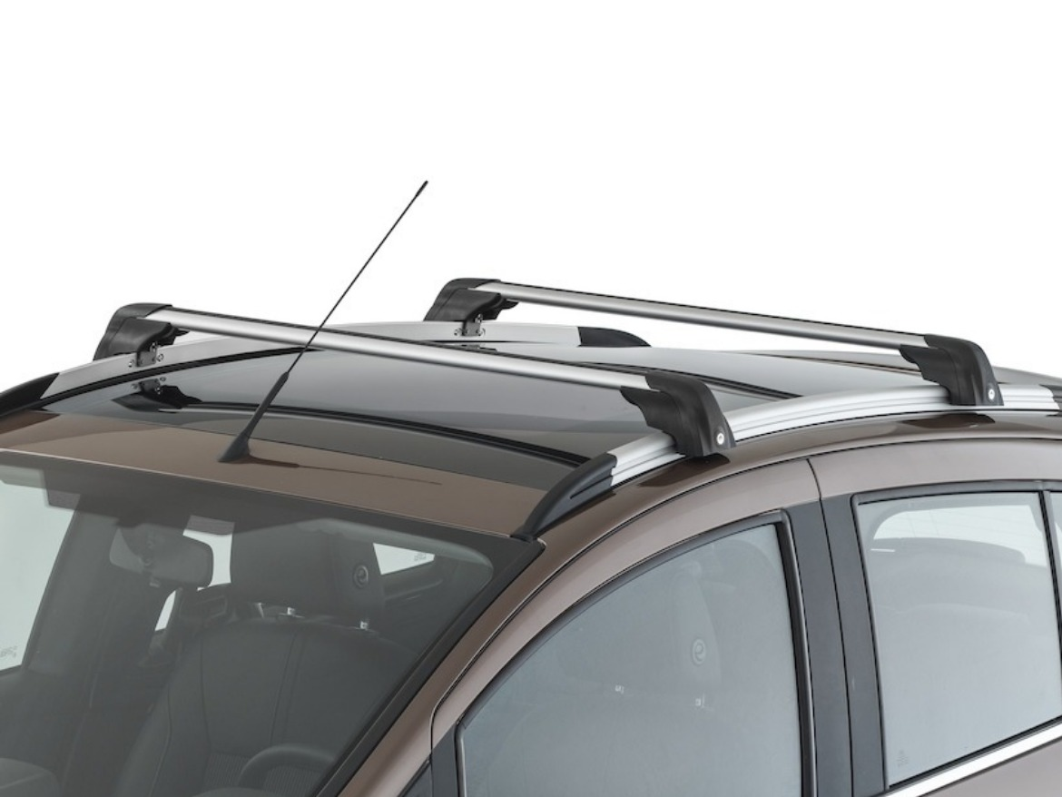 B-MAX Roof Rack - Silver/Black