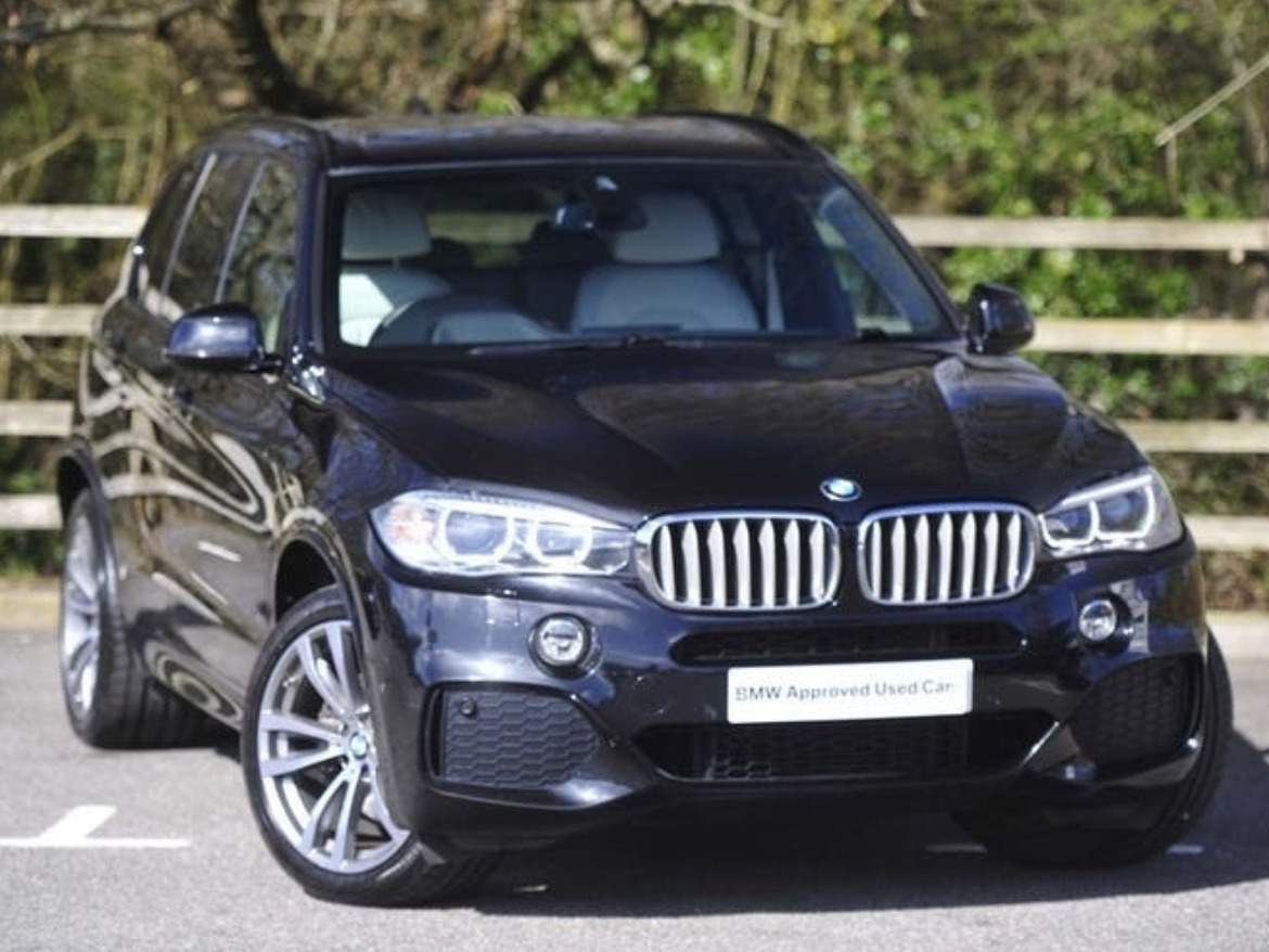 Used BMW X5 Xdrive40d in black
